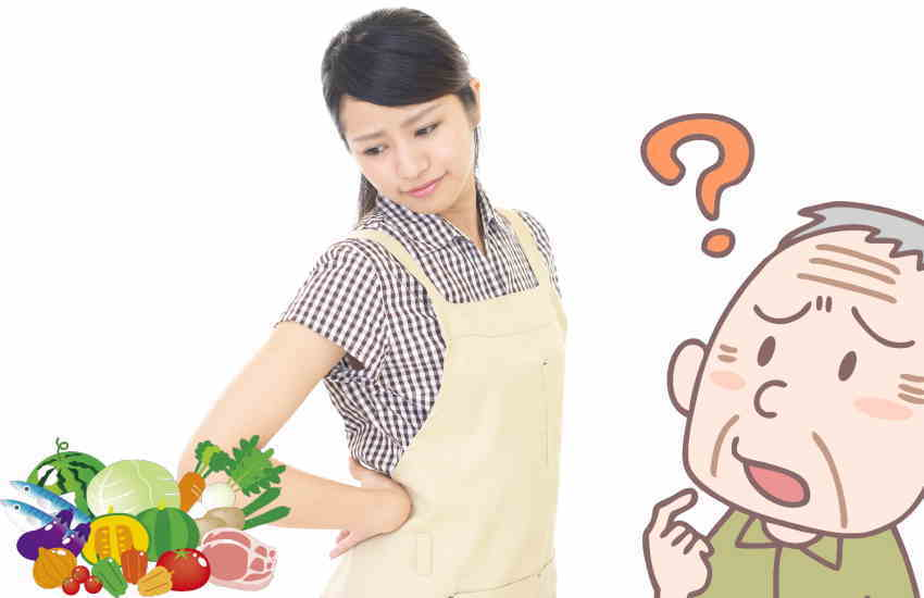 料理が苦手なヘルパー必見!利用者に食べたい物を尋ねても返事がない時